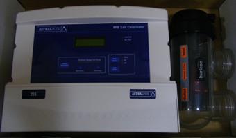 sóbontó készülék medence sósvizes fertőtlenítés